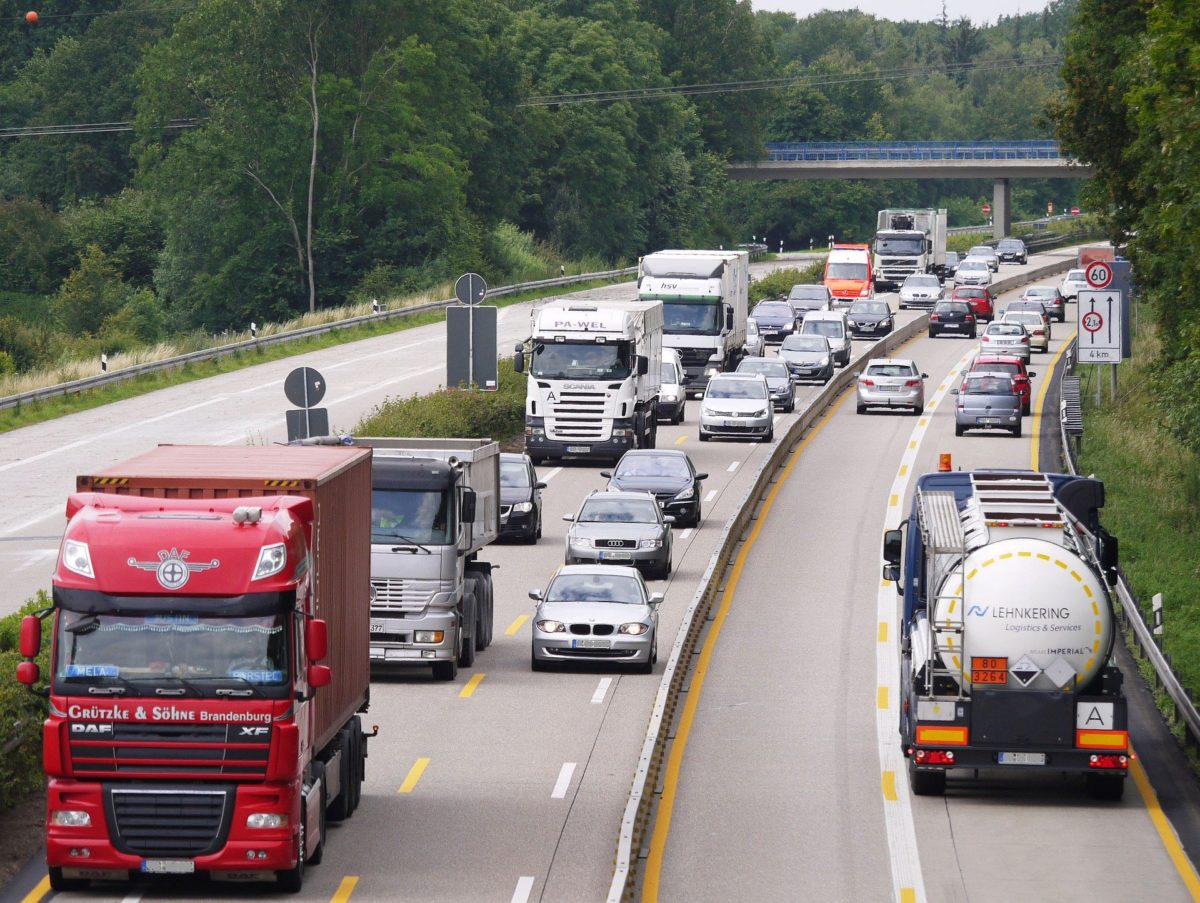 LKW Transporte in Europa